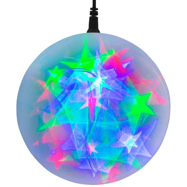 """Multicolor Battery-Operated 6"""" LED Starfire Sphere"""