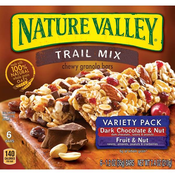 Chewy Trail Mix Bar Variety Pack