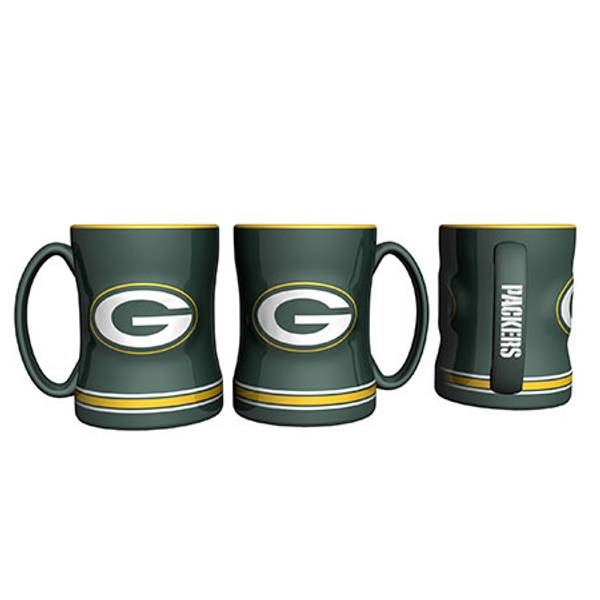 Green Bay Packers Relief Coffee Mug