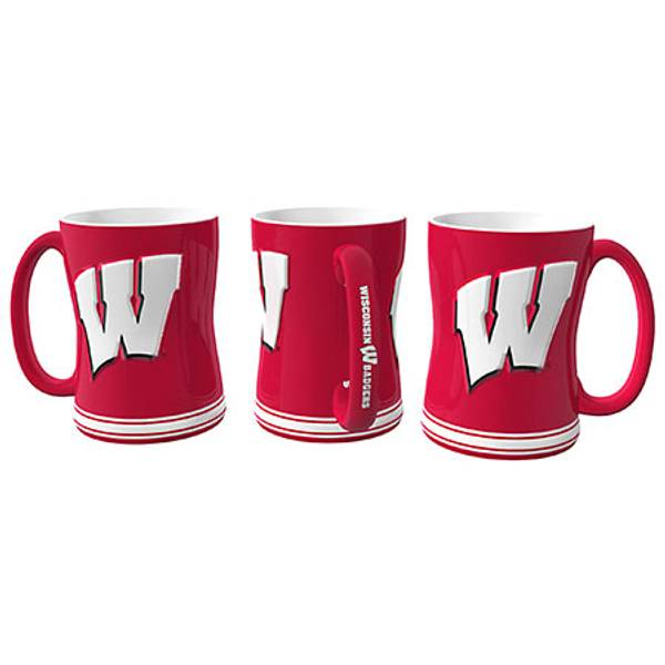 University of Wisconsin Relief Coffee Mug
