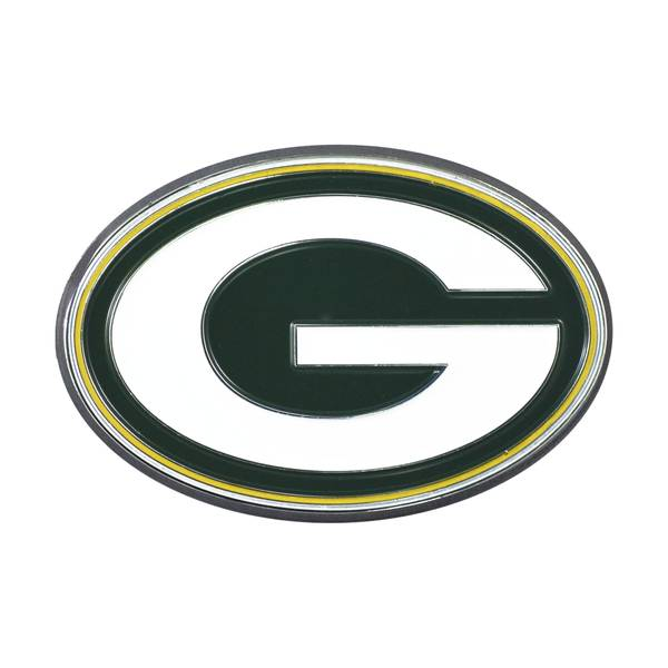 Green Bay Packers Color Emblem
