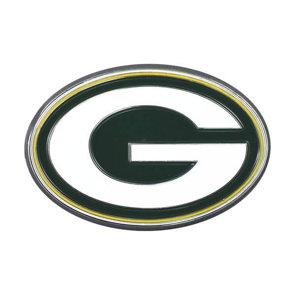 Green Bay Packers Color Emblem