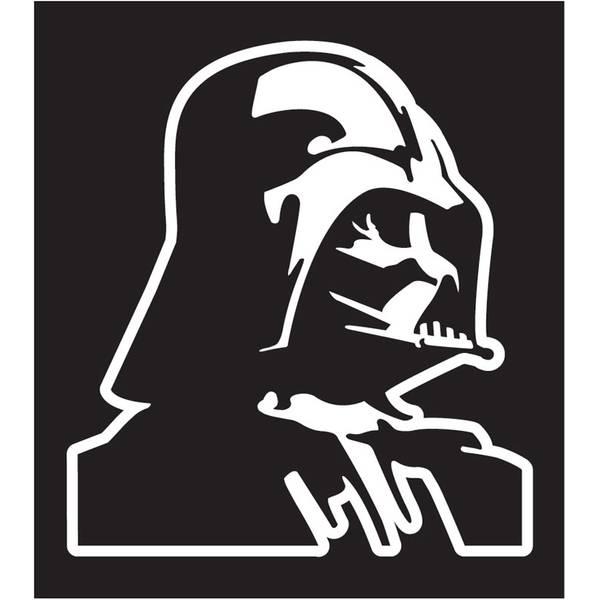 Darth Vader Die Cutz Decal