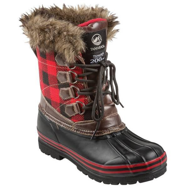 Women's  Plaid Bean Boot