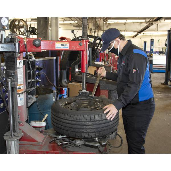 Passenger Tire Mounting