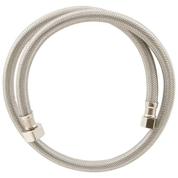 "3/8""x1/2""x36"" Stainless Steel Supply Line"