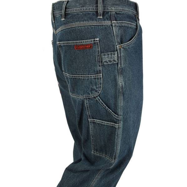Men's Denim Traditional Fit Dungaree Jeans