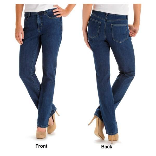 83617b7ba03 Lee Misses Classic Fit Monroe Straight Leg Jeans