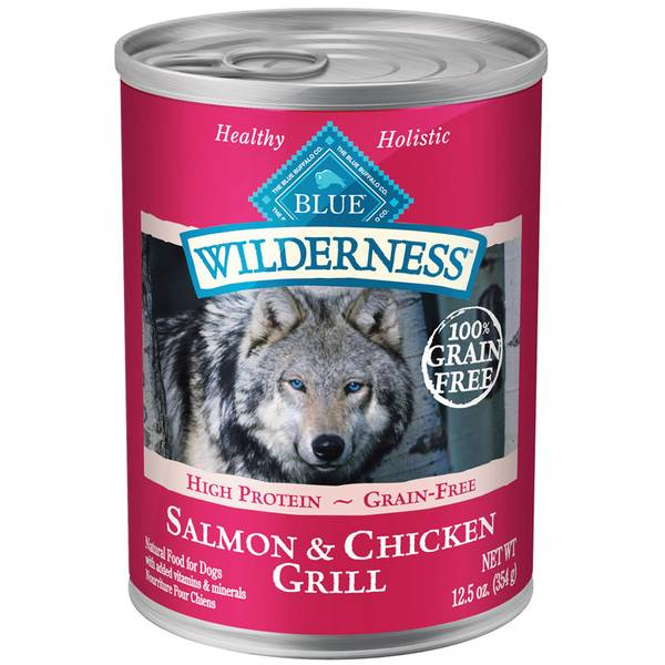 Grain Free Salmon & Chicken Grill Dog Food