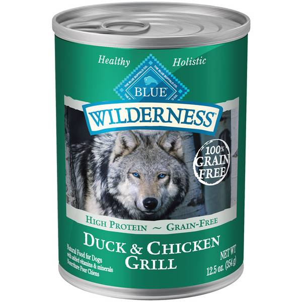 Grain Free Duck & Chicken Grill Dog Food