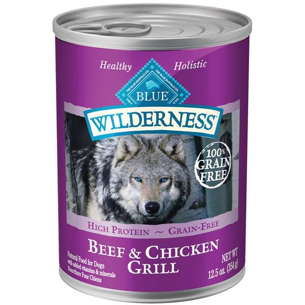 Grain Free Beef & Chicken Grill Dog Food