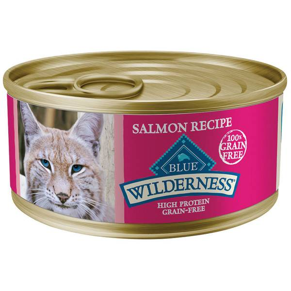 High Protein Grain Free Salmon Adult Cat Food