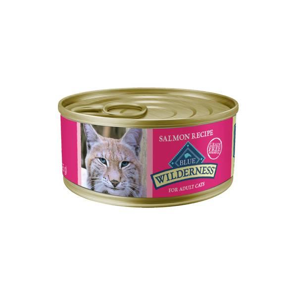 5.5 oz High Protein Grain Free Salmon Adult Cat Food