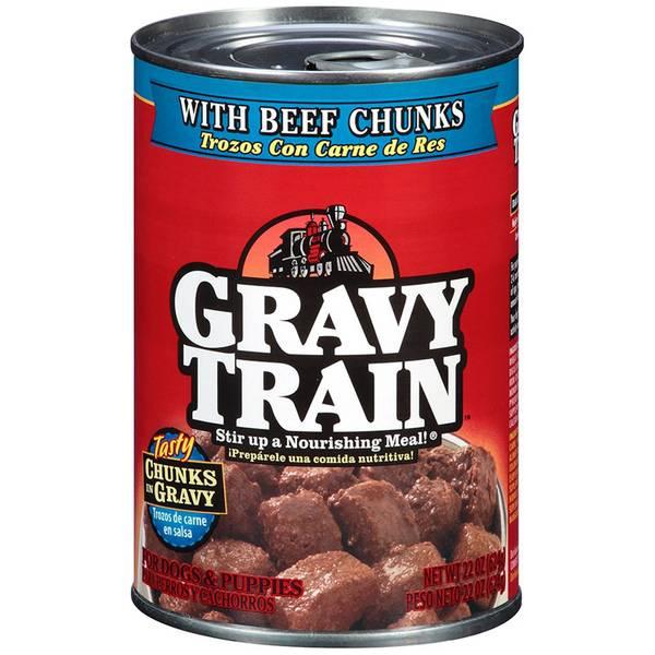 Beef Chunks In Gravy Dog Food
