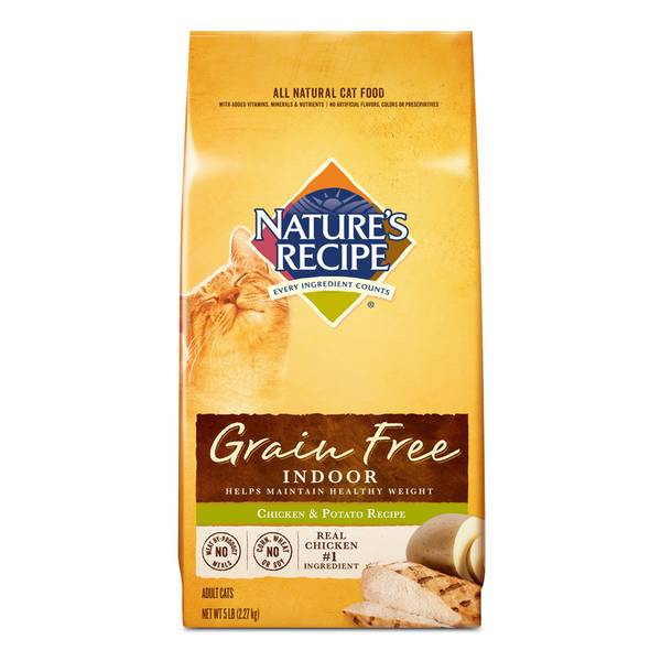 Grain Free Chicken and Potato Cat Food