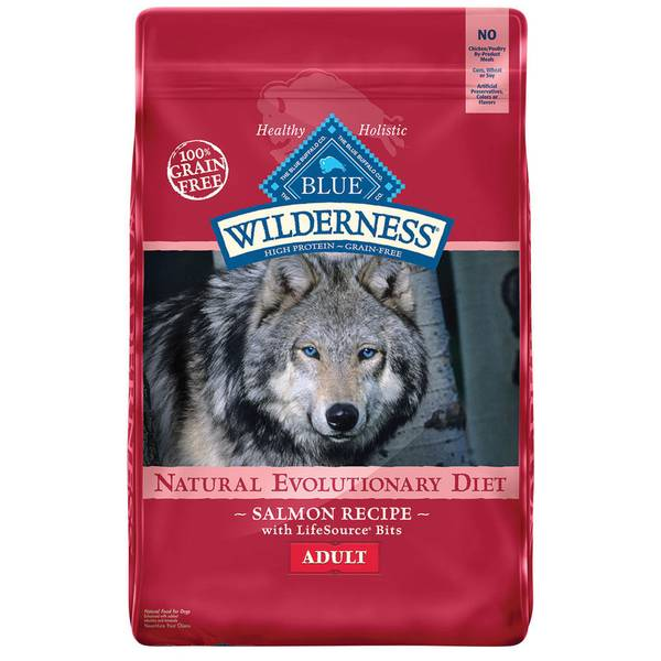 11 lb Grain Free Salmon Natural Evolutionary Diet Adult Dog Food