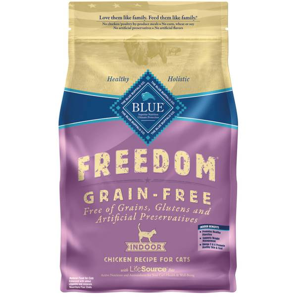 Freedom Grain Free Natural Chicken Recipe Indoor Cat Food