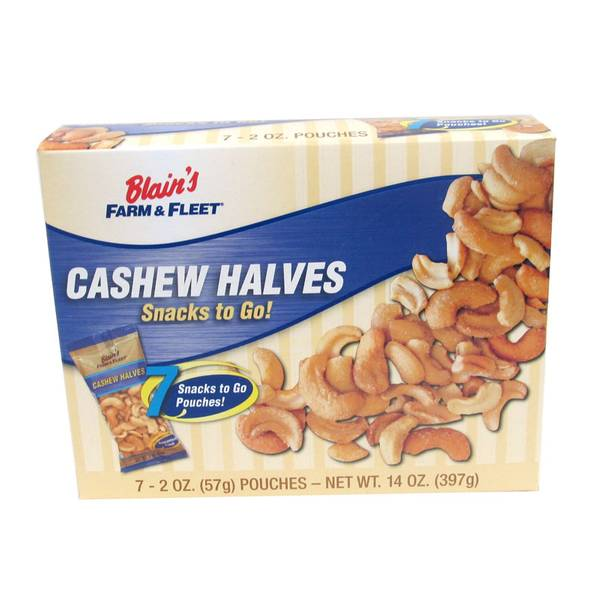 Cashew Halves To Go Pack