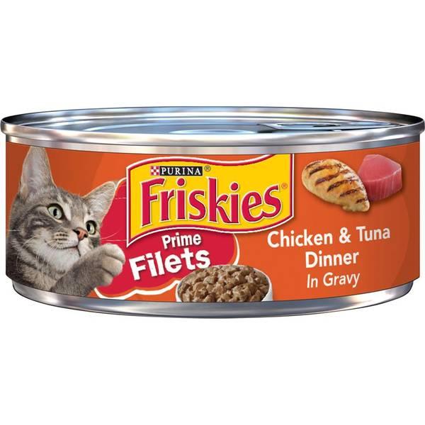 Prime Filets Chicken & Tuna Dinner In Gravy