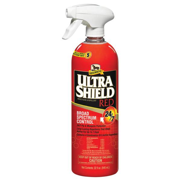 UltraShield Red Broad Spectrum Control Equine Insect Repellent