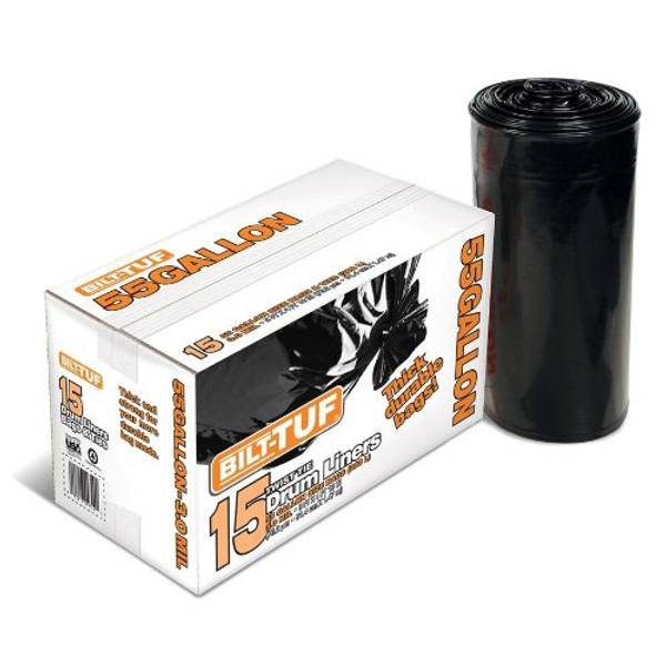 55 Gallon Black Drum Liners