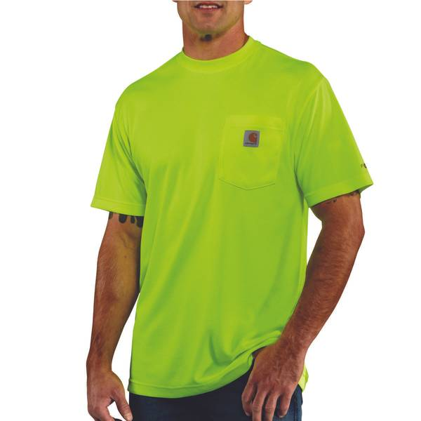Men's Short Sleeve High Visibility Enhanced T-Shirt