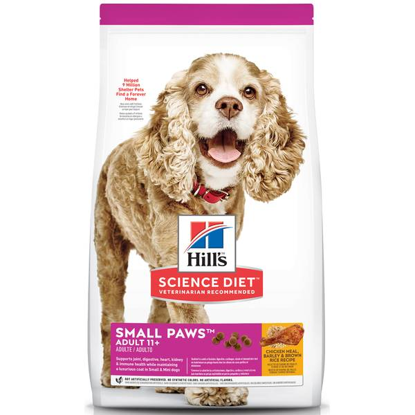 4.5 lb Senior 11+ Small Toy Breed Age Defying Dog Food
