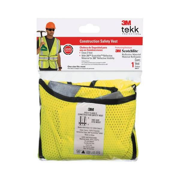 Men's Class 2 Construction Safety Vest