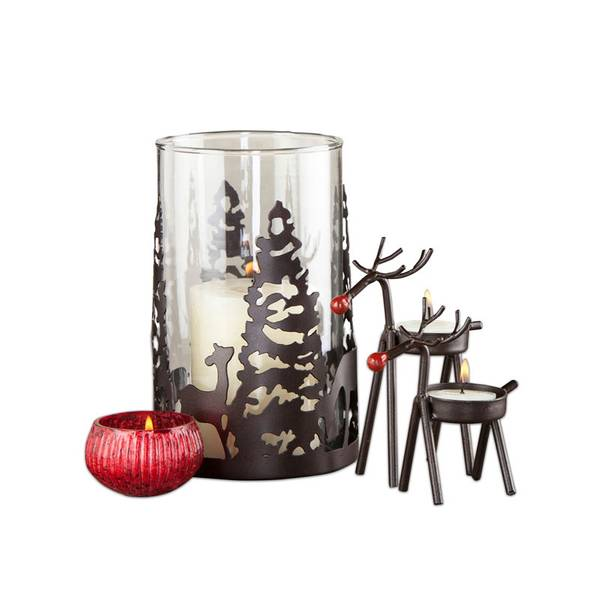 Enchanted Forest Holiday Candle Collection