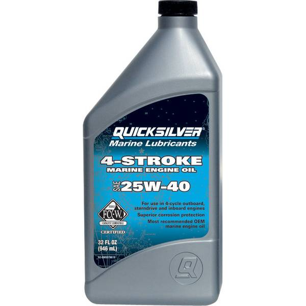 MERC8M0078619 Sterndrive and Inboard 4 Cycle Marine Engine Oil