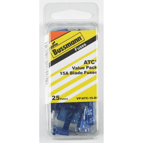 15 Amp Fast Acting Blade Fuse, Blue