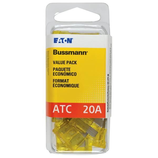 20 Amp Fast Acting Blade Fuse