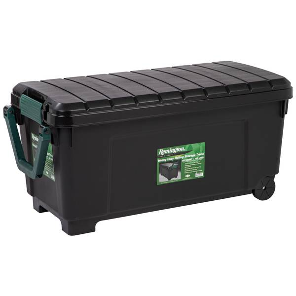 Remington Heavy Duty Rolling Storage Trunk