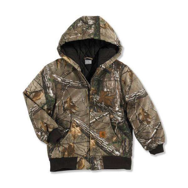 Boys' Realtree Camouflage Active Jacket