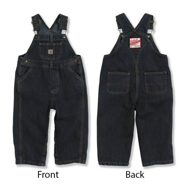 Toddler Boys' Denim Bib Overalls