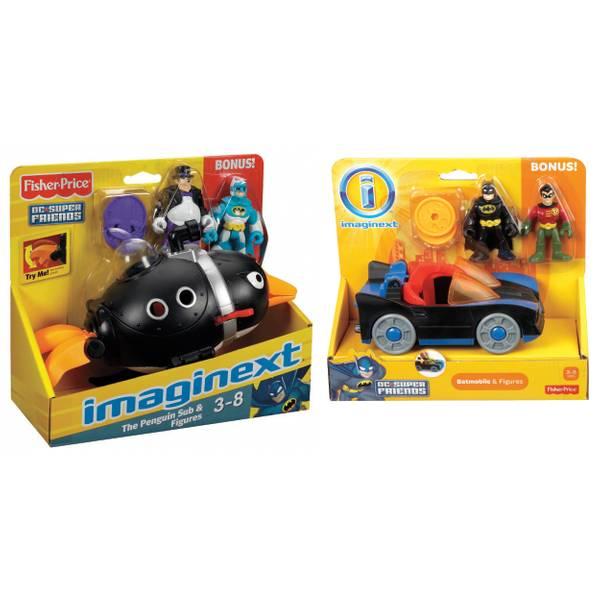Imaginext DC Super Friends Vehicle Pack Assortment