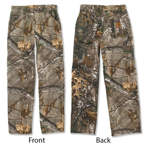 Boys' Realtree Camouflage Work Dungarees