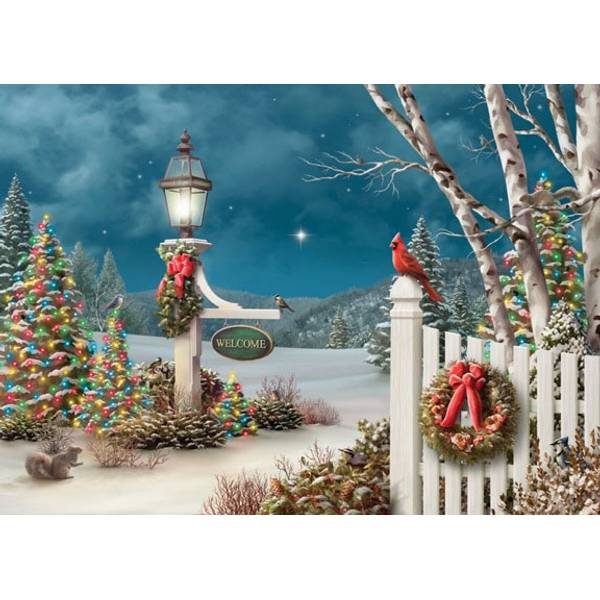 Holiday Welcome Deluxe Holiday Cards