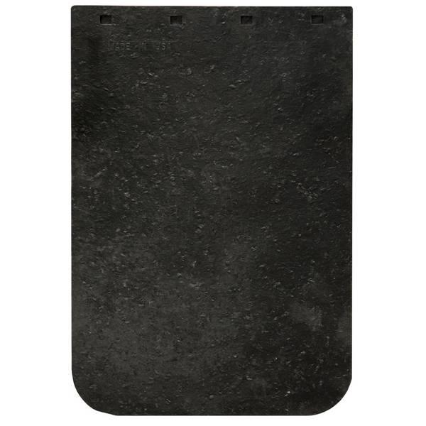 "12"" x 18"" Plain Black Mud Flap"