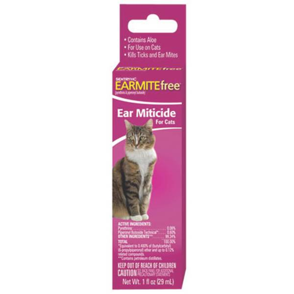 Earmite Free Ear Mitecide for Cats
