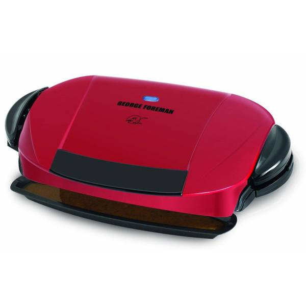 George foreman 5 serving removable plate grill - Health grill with removable plates ...