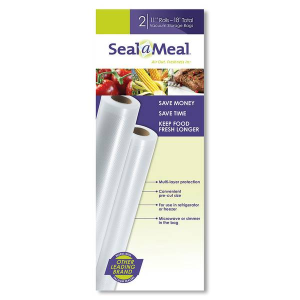 Save money, save time, and keep food fresh longer with Seal-a-Meal Vacuum Seal Bags. Offering maximum ease and convenience, precut bags are always ready when you are. Simply put food inside the bag and vacuum seal!/5(22).