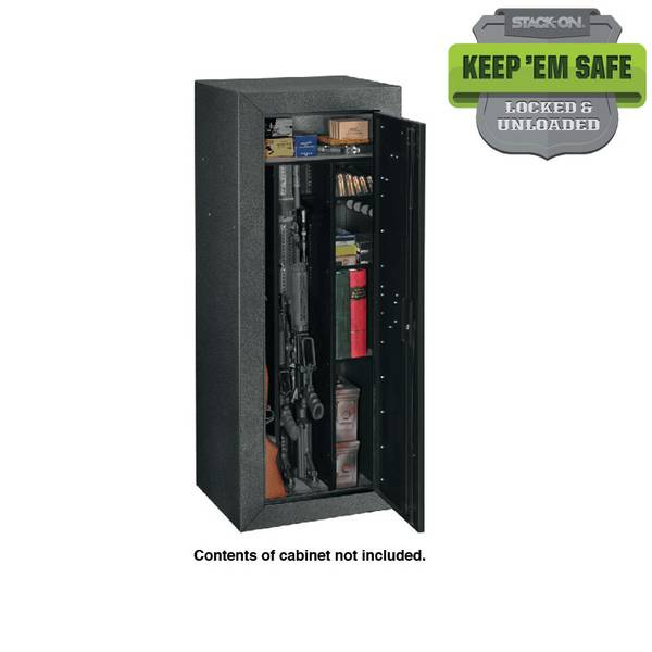 Stack On Tactical Steel Gun Security Cabinet