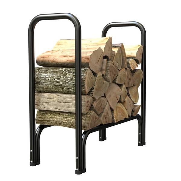 Black Log Rack