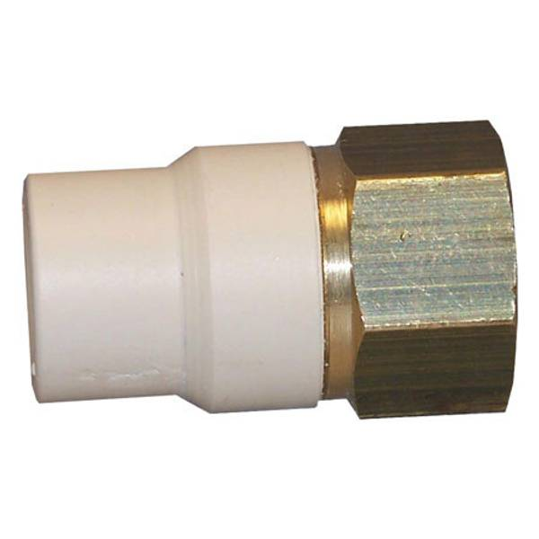 Genova cpvc transition adapter fip for Cpvc hot water