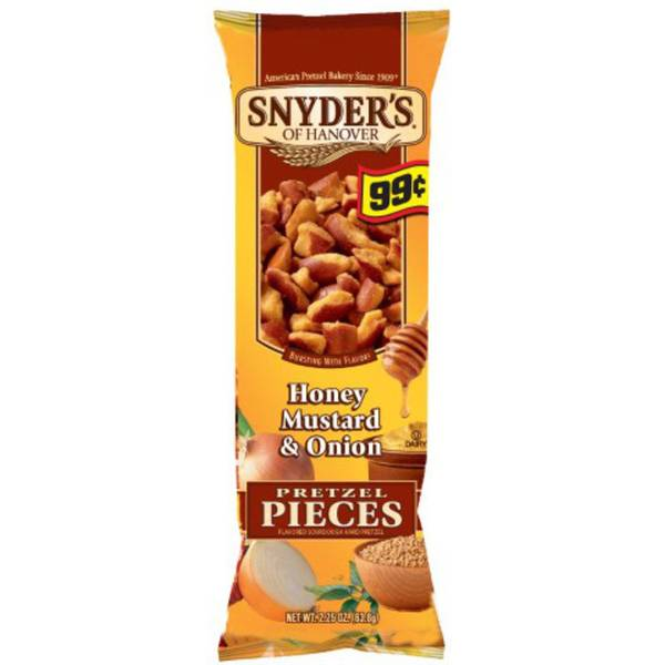 Honey Mustard & Onion Pretzel Pieces
