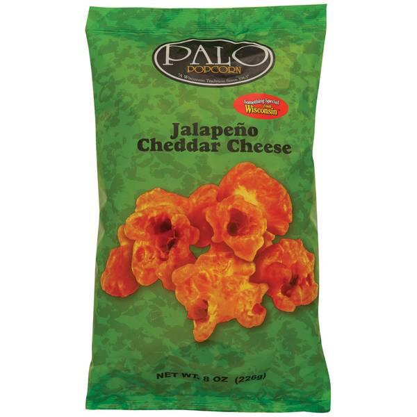 Jalapeno Cheddar Cheese Popcorn