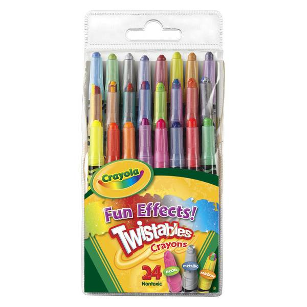 Fun Effects Twistables Crayons