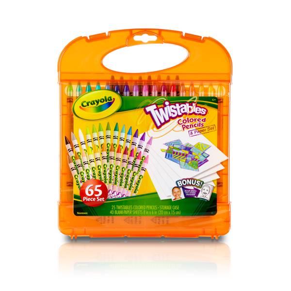 Twistables Colored Pencils & Paper Set