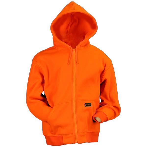 Boys'  Orange Hoodie